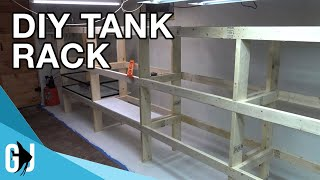 #594: HOW TO: DIY DADO CUT AQUARIUM RACK TIMELAPSE BUILD - Update Monday