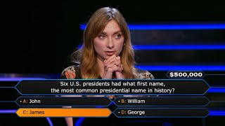 Can Lauren Lapkus Win $500,000 For Charity? - Who Wants To Be A Millionaire