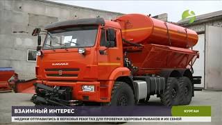 Gambar cover Курганские машиностроители приспосабливают технику к работе на севере