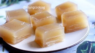 Cách Làm BÁNH CỦ NĂNG Đơn Giản Giòn Ngon / Water Chestnut Cake