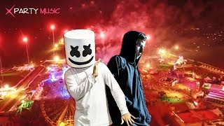 DJ Marshmello vs DJ Alan Walker 🔥 Alone vs Faded House BreakBeat Remix 2017