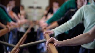 Урок балета в Музыкальном театре