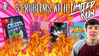 5 Problems and Issues I have with Limited Run Games! | Rant