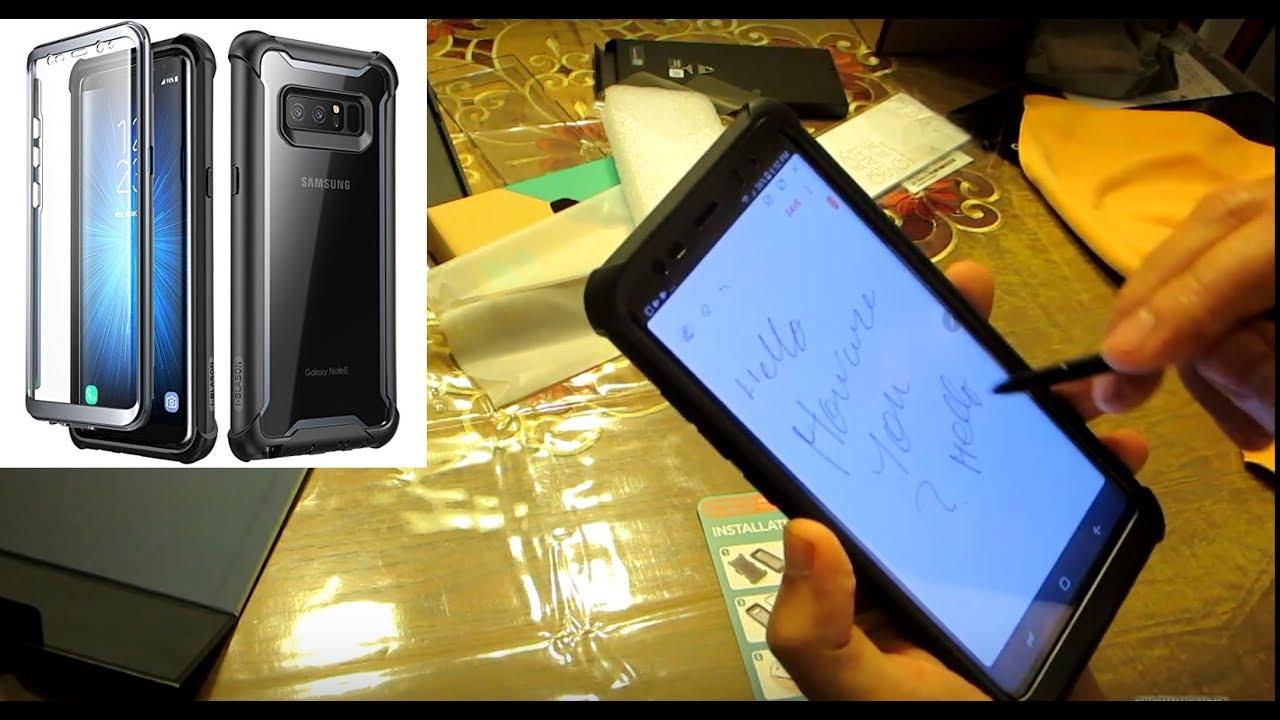291b0909228 i-BLASON Samsung Galaxy Note 8 Full Body Protective Case - YouTube