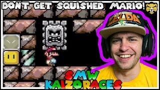 The Castle Of Thwomps: Super Mario World Blind Kaizo Races