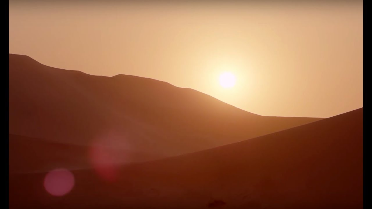 10 Hours Of Relaxing Planet Earth II Desert Sounds | Earth Unplugged