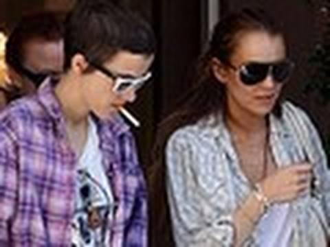 Lindsay Lohan Beaten Up By Girlfriend Samantha Ronson