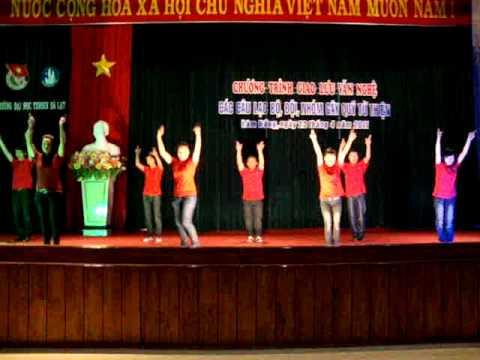 Nhay Dan Vu - CLB Ky Nang DH Yersin Dalat - Rasasayang.MPG