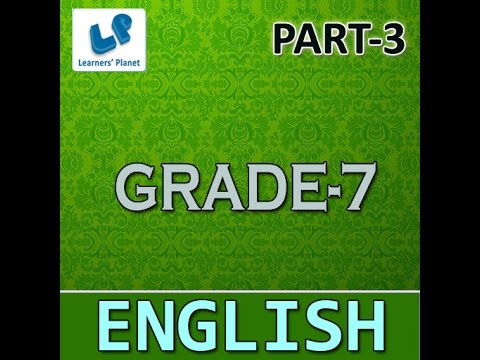 Cbse English Grammar Printable 7th Class For Kids Youtube