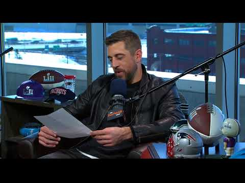Packers QB Aaron Rodgers Reads His Negative Draft Profile | The Dan Patrick Show | 2/1/18