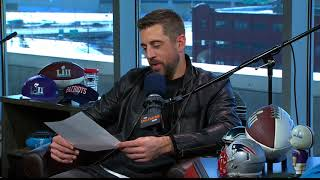 Packers QB Aaron Rodgers Reads His Negative Draft Profile   The Dan Patrick Show   2/1/18