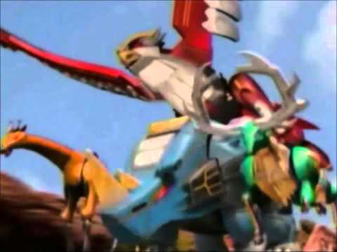 Power Rangers Wild Force Isis Megazord