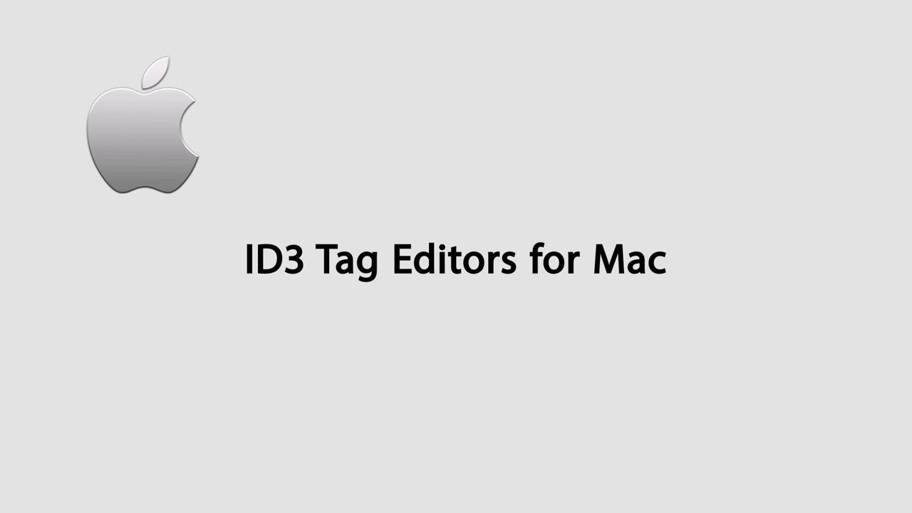 Top 7 ID3 Tag Editors for Mac OS X El Capitan