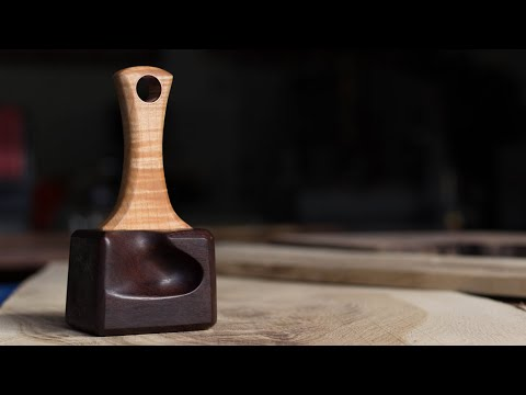 Make a Detail Mallet—How To Woodworking—How to Make a Wood Mallet