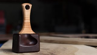 Make a Detail Mallet-How To Woodworking-How to Make a Wood Mallet