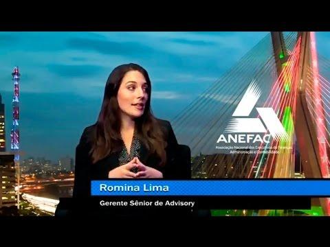 Programa Momento Econômico da ANEFAC - Entrevista com Romina Lima