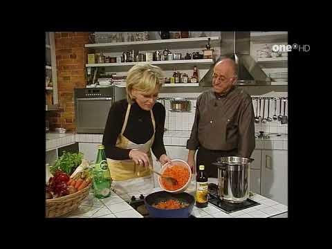 alfredissimo  Kochen mit Bio und Eva Herman:Spaghetti mit Tomaten Karottensoße & Indische Pilzpfanne