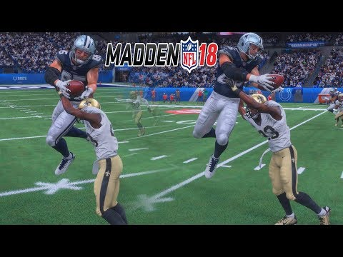 Madden 18 Draft Champions - A TIGHT END WILL NEVER MAKE THIS CATCH AGAIN! ft Kouppa