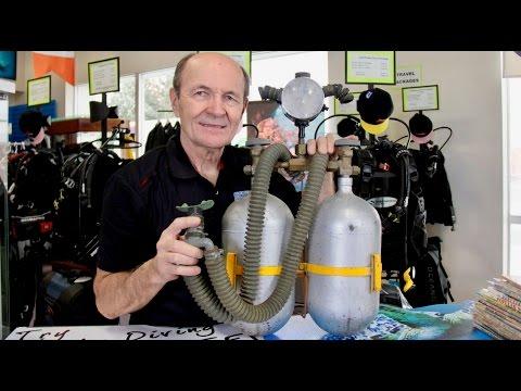 Scuba Tech Tip: Home Made Scuba Tanks and Regulators - S03E11