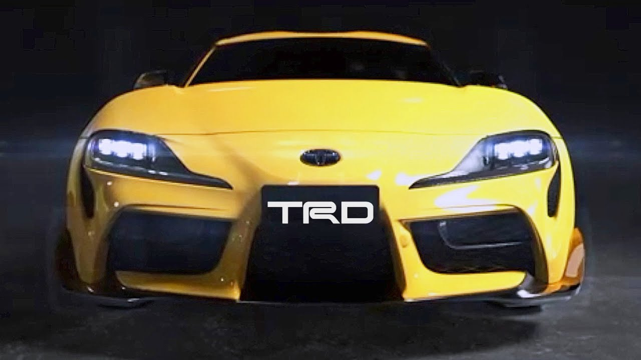 2020 Toyota SUPRA with TRD Performance Styling Parts