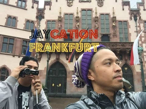 Top Places to Visit & Eat in Frankfurt, Germany | Jaycation Travel Vlog