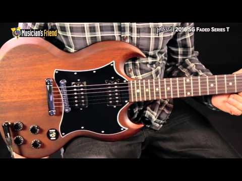Gibson 2016 SG Faded Series T
