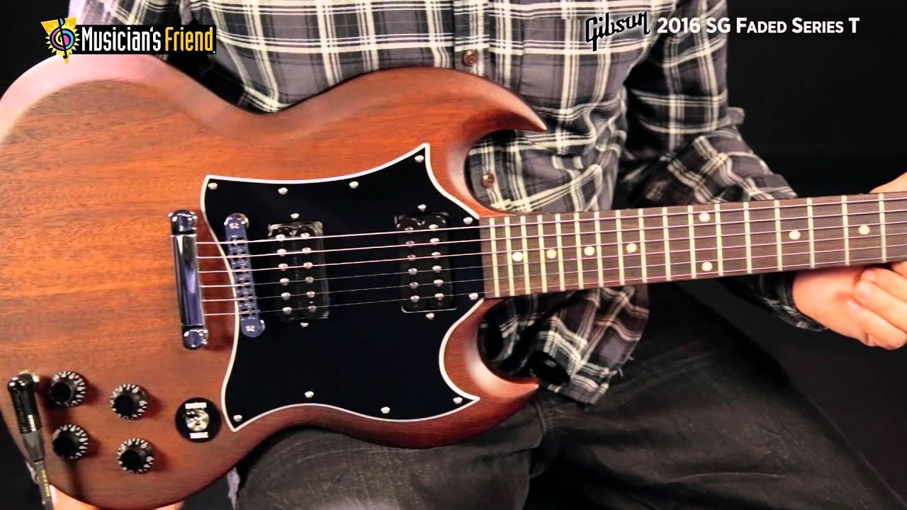 Gibson 2016 Sg Faded Series T Youtube