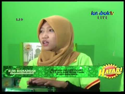 Kuis HATARI Ramadhan 2018 LOMBOKTV edisi Jumat 18 Mei 2018