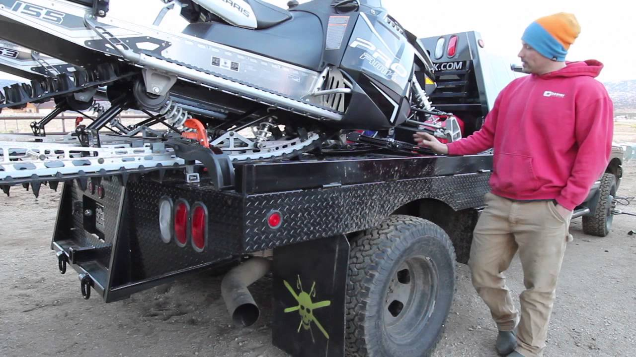 Bradford Built Flatbed Ironman Hitches Adventurerig