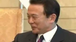 麻生太郎 2009年5月19日 パプアニューギニア首相