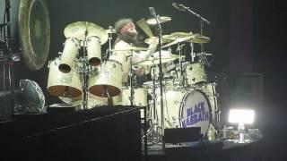 Crazy Drum Solo - Rat Salad - Black Sabbath Tommy Clufetos 02.02.2017 Birmingham Genting Arena