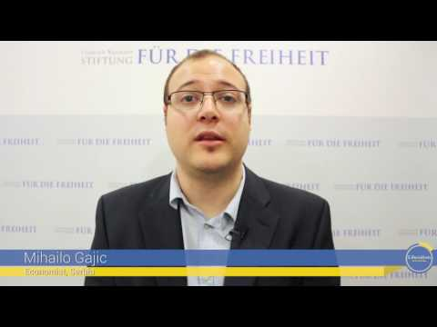 Liberalism in 10 Seconds: Mihailo Gajic, Economist, Serbia