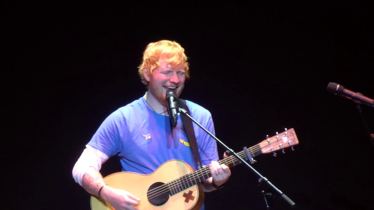 Ed Sheeran - One (live at the Royal Haymarket Theatre)