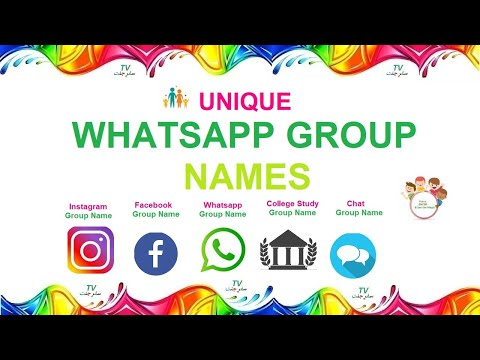 Whatsapp Group Names | Facebook Group Names | Chat Group Names | Family Group Names | Friends Groups