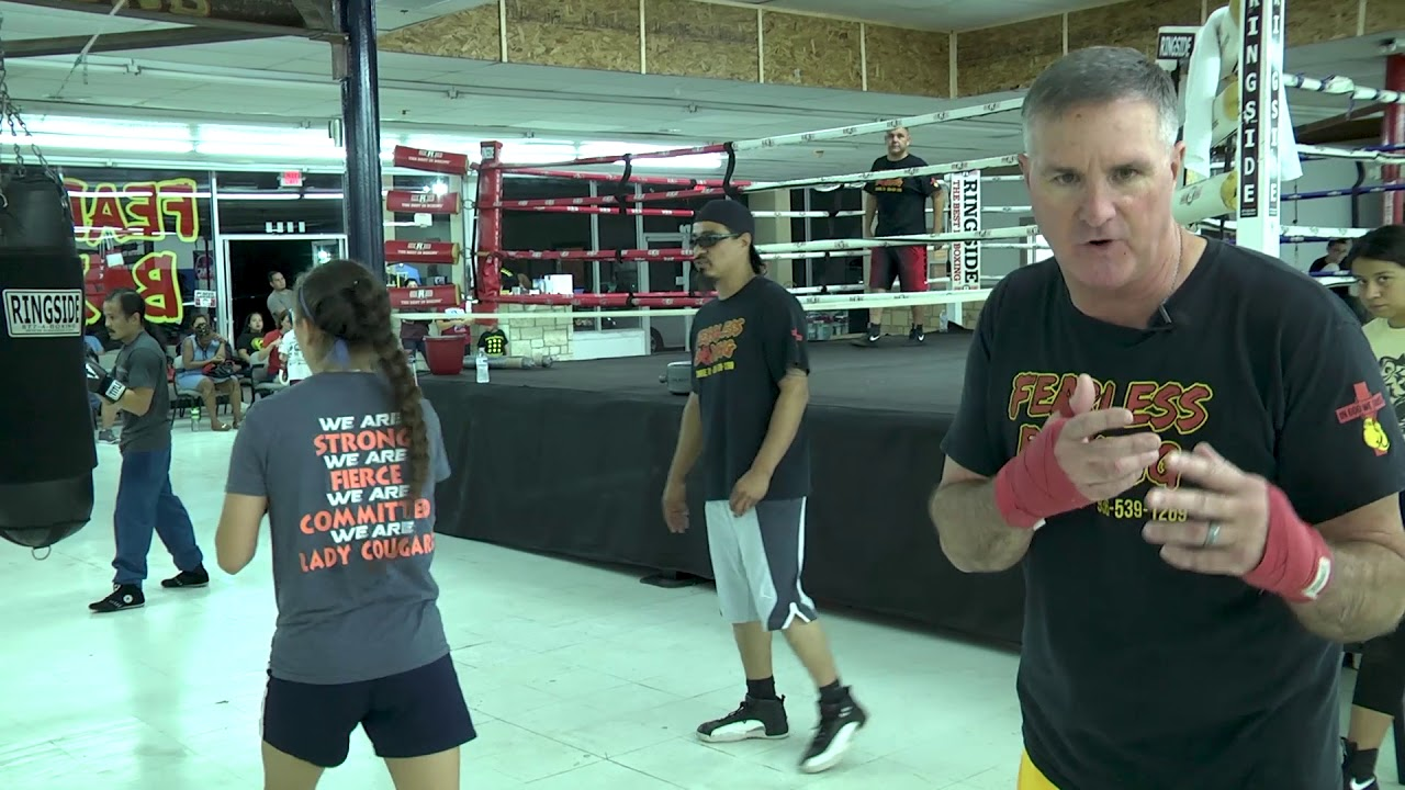 Fearless Boxing Gym Boxing Lessons Segment