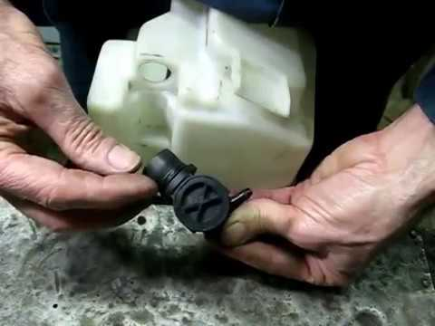 Windshield Washer Pump Replacement  YouTube