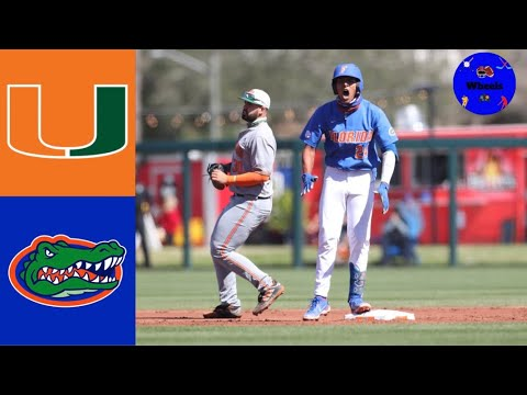 Download #21 Miami vs #1 Florida Highlights (Extra Inning Thriller!) | 2021 College Baseball Highlights