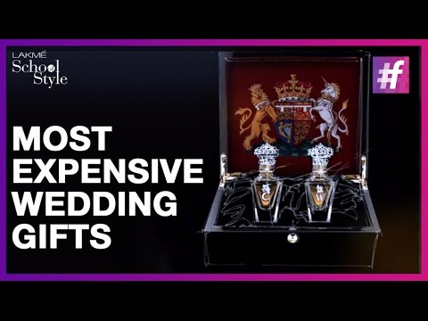 5 Most Expensive Wedding Gifts Of All Time Fame School Style