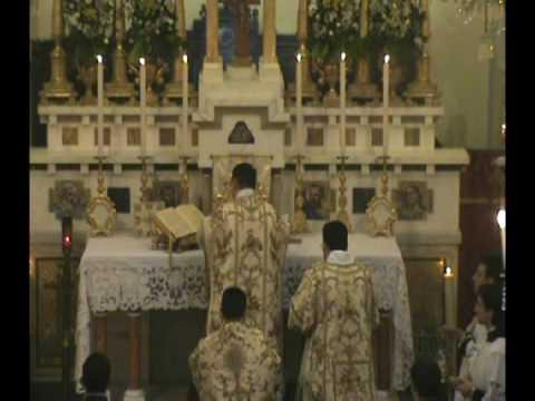 Santa Messa Tridentina 12 - Consacrazione