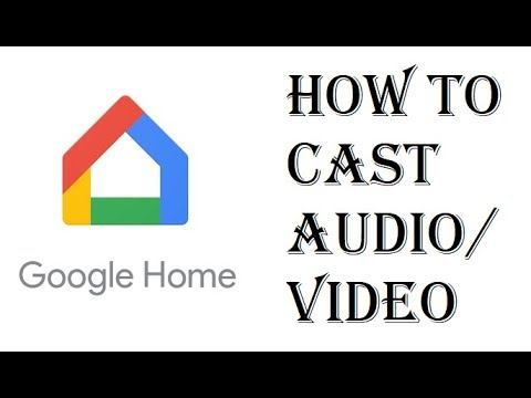 how to connect google home mini to chromecast