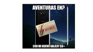 MI NUEVO GALAXY S8+ Y VAMOS A UNA NUEVA AVENTURA...