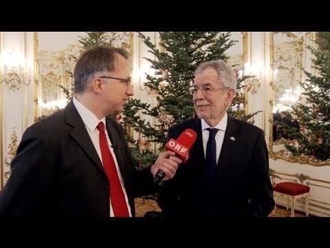 Peter Klien - Christbaumübergabe an Bundespräsident Van der Bellen