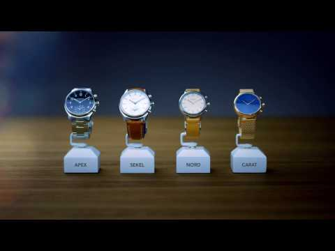 Kronaby - Introducing connected smartwatches from Sweden