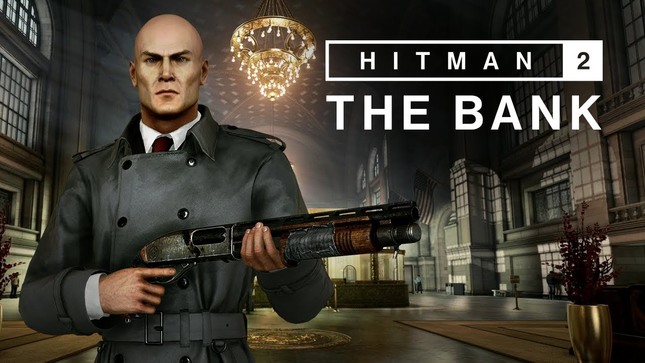Hitman 2 The Bank Io Interactive
