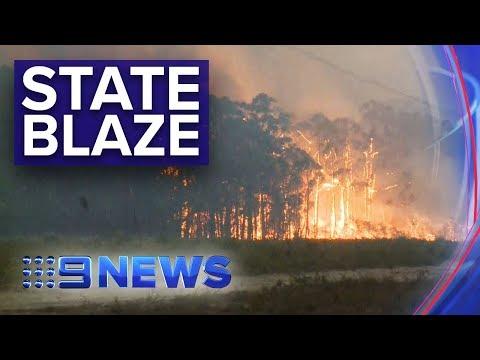 NSW Bushfires: Largest Fire Front In Australia's History | Nine News Australia