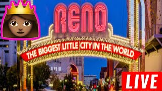 🔴 LIVE in Reno ! Weekend here we come 💰💵🎰