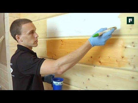 Покраска деревянных стен и потолков // FORUMHOUSE
