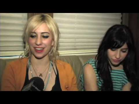 The Veronicas Interview On The RIS American Tour