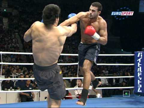 K-1 World GP 2008 Badr Hari vs Hong Man Choi 27.09.2008 (Seoul, South Korea)