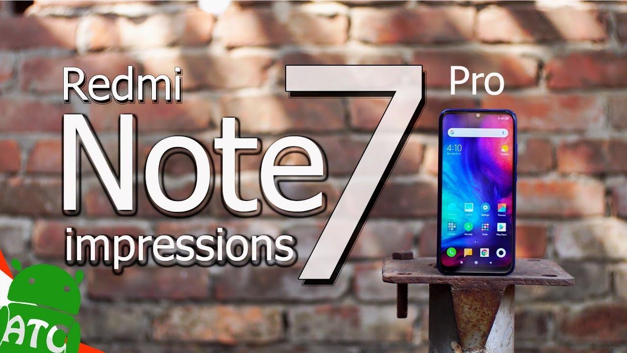 Redmi Note 7 Pro First Impressions in Bangla   ATC
